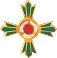 緑十字銅章